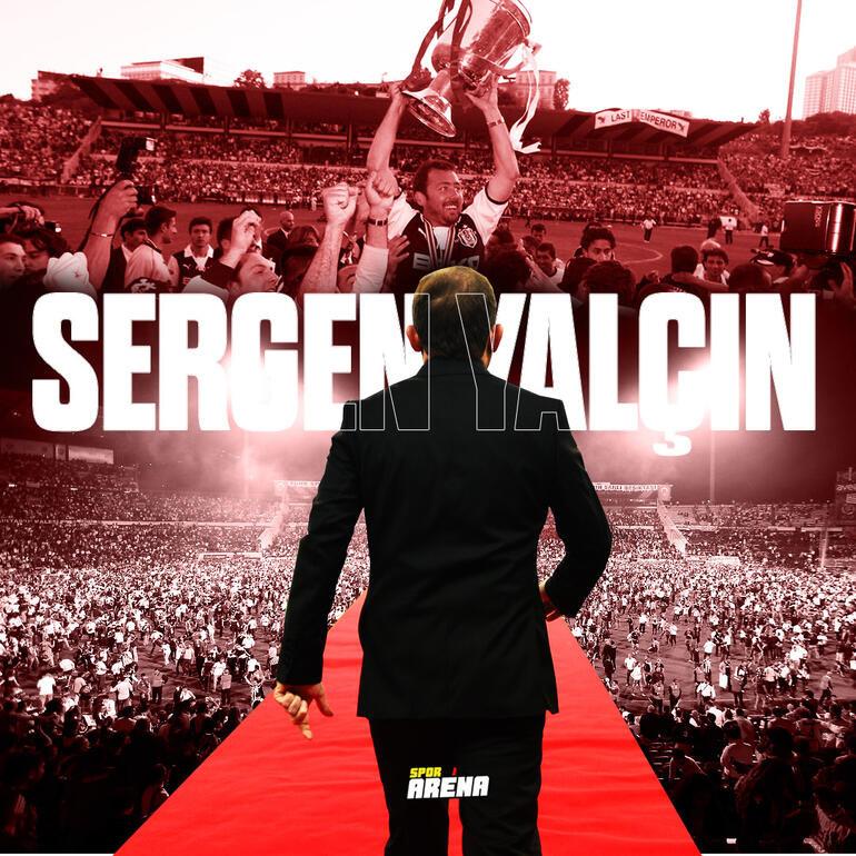 Beşiktaştan son dakika Sergen Yalçın kararı Yeni sözleşme detayları, yıllık ücreti...